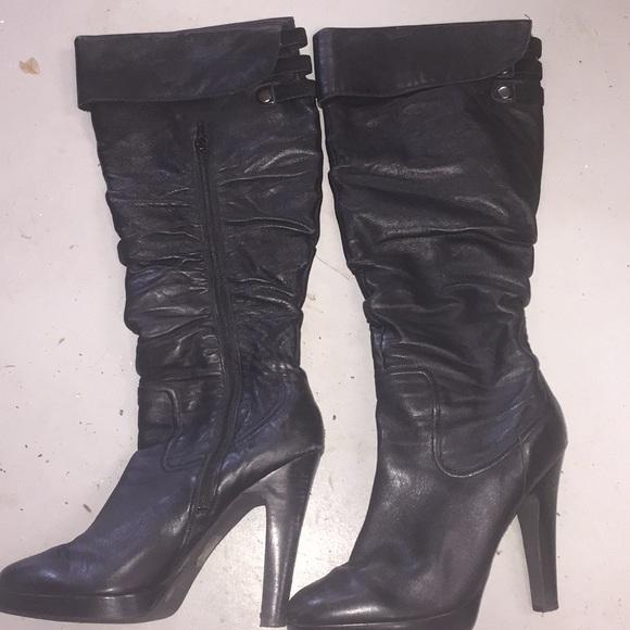 91e5093fa19 Jessica Simpson super soft slouchy leather boot